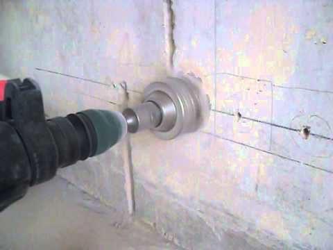 Купить коронку по бетону для перфоратора под розетку купить бетон щелково от производителя